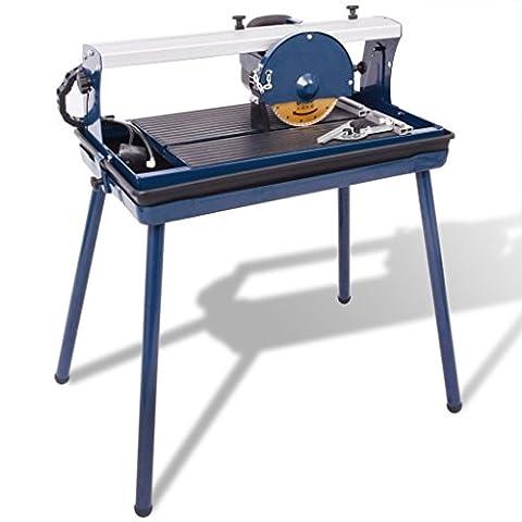 vidaXL Machine de découpe des carreaux 600 W 180 mm Scie de carrelage électrique