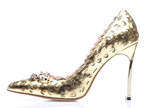 TDA - Sandali con Zeppa donna Gold