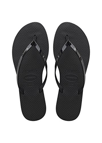 Havaianas You Metallic, Sandali Donna, Nero (Black 0090), 39/40 EU