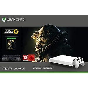 Microsoft Xbox One X 1TB, weiß – Fallout 76 Bundle Special Edition Weiß