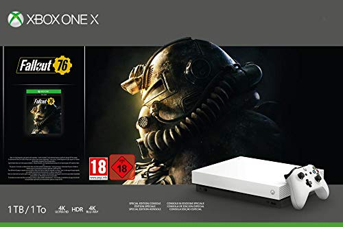 Xbox One X - Consola 1 TB, Color Blanco + Fallout
