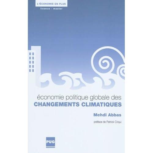 Economie politique globale des changements climatiques