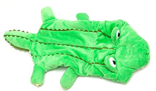 Midlee Alligator-Kostüm für Hunde, 40 cm Rückenlänge