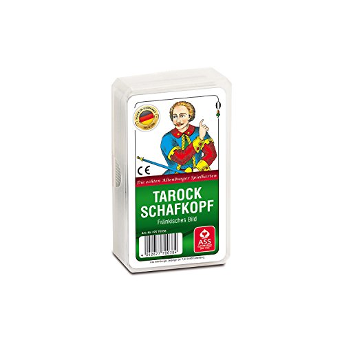 ASS Altenburger 22570038 - Tarock/Schafkopf, fränkisches Bild (Freecell Kartenspiel)