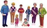 Miniland Miniland27395Figurines de famille européenne (8pièces)