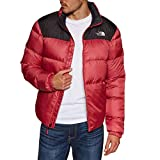 THE NORTH FACE Nuptse III Jacket Men red/black Size M 2018 winter jacket