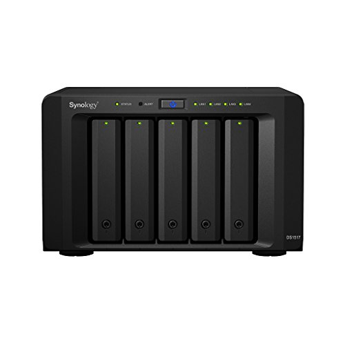 Synology DS1517 5 Bay Desktop NAS Gehäuse