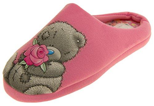 Pantoufles en mousseline de soie pour homme 'Me To You' pour femme pink