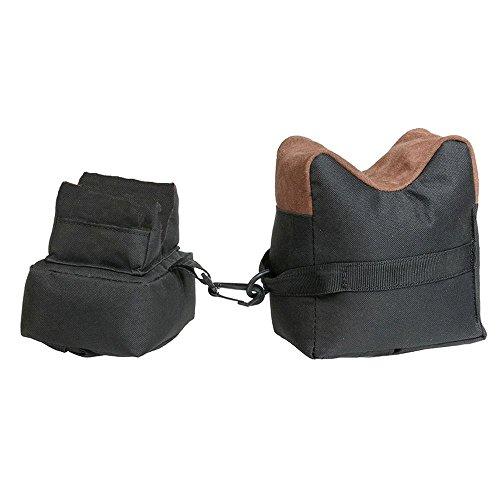 Jagdaktiv Gewehrauflage Einschießsack Benchrest 2teilig für Jäger und Sportschützen