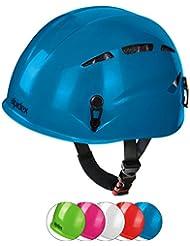 ALPIDEX Universal Kinder Kletterhelm robust und sicher - geeignet für Kopfumfang 47-54 cm
