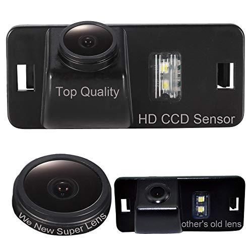 Dynavsal Auto Rückansicht Kamera 1280 * 720 Pixel 1000TV Linien Wasserdicht Nachtsicht Einparkhilfe Rückfahrsystem, Rückfahrkamera für BMW X1 X3 X5 X6 520LI E46 E53 E90 E80 E60 E70 M3 E82 E88 E91 E92