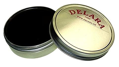 DELARA Lederfett, schwarz - Made in