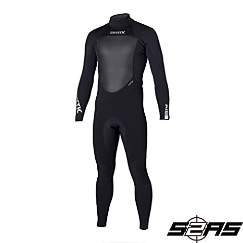 Mystic Star 4/3mm GBS Sealed Seam Wetsuit BLACK 140045 Wetsuit Sizes - XLarge