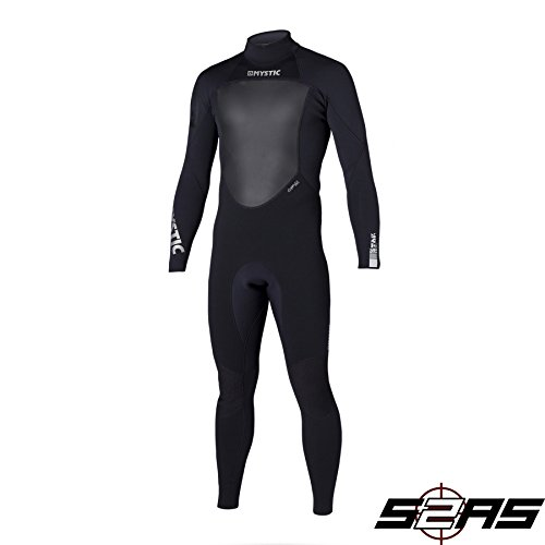 Mystic Star 4/3mm GBS Sealed Seam Wetsuit BLACK 140045 Wetsuit Sizes - Large
