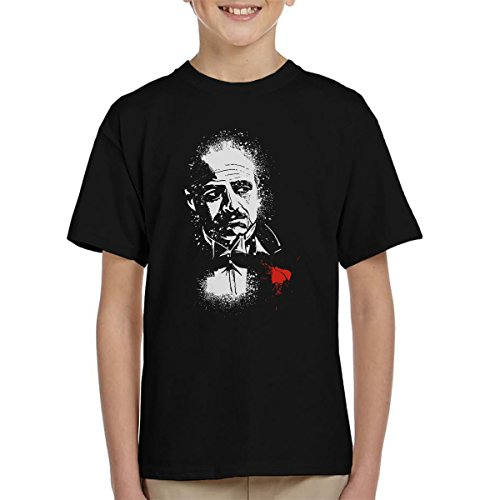 The Godfather The Offer Don Vito Corleone Kid's T-Shirt (Programm Das Caan James)