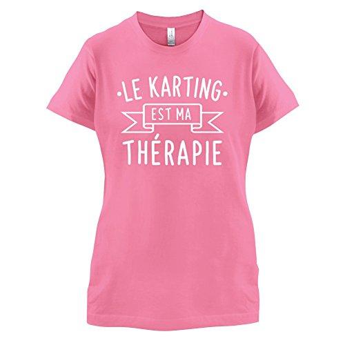Le karting est ma thérapie - Femme T-Shirt - 14 couleur Azalée