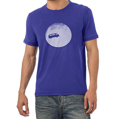 Texlab Full Moon Bulli T3 - Herren T-Shirt, Größe M, Marine (Marine-freundin-t-shirt)