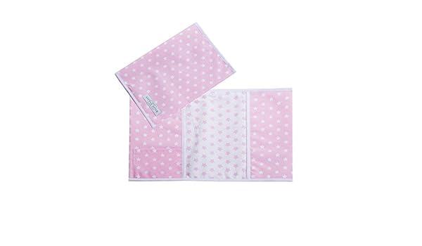 LITTLE DUTCH 6174 Mutterpass-H/ülle rosa mit wei/ßen Sternen