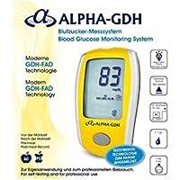 Preisvergleich für Alpha GDH Blutzuckermessgerät mit 100 Teststreifen