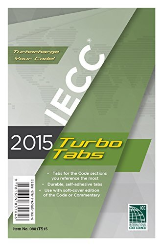 2015 International Energy Conservation Code Turbo Tabs by International Code Council (2014-06-02)