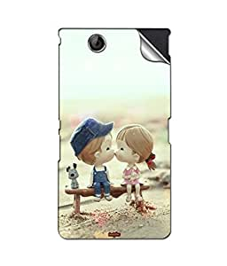 instyler MOBILE STICKER FOR SONY Xperia Z Ultra1 XL39H
