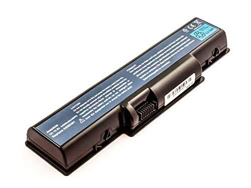 Mobilotec Akku kompatibel mit Packard Bell Easynote TJ65-DT-08 GE Notebook Laptop Batterie Akku Hochleistung