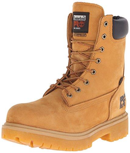 Timberland Pro Men's Direct Attach 8 Steel Toe Boot,Wheat,9 M Steel Toe 9