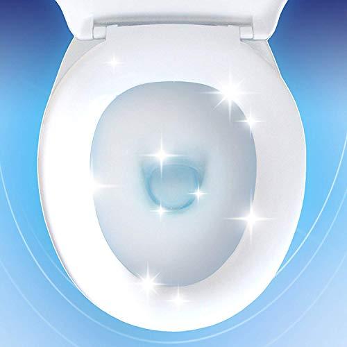 Domestos Gel Nettoyant WC Brillance et Blancheur avec Javel, 100% Désinfectant, Détartrant, Elimine 100% des Bactéries, 1 L