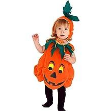 XINSH Disfraz Halloween Calabaza Mono Niños Costume Cosplay Vestido para Carnaval Navidad Fiesta
