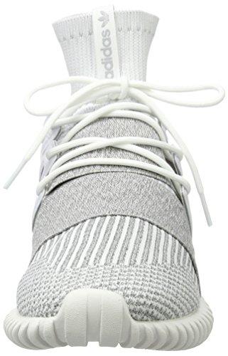 Bassi Adulte Mixte Blanc Primeknit Destino Calzature calzature Bianco Chiaro Grigio Adidas Tubolare Cestini Bianco wxYa6XIq