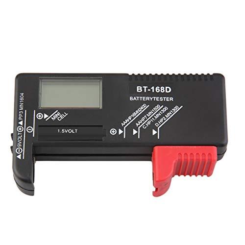 Heaviesk Batterie Tester 1 Stücke AAA AA CD Batterie Tester für 9 V 1.5 V Und Knopfzelle AAA AA CD BT-168D Wiederaufladbare Drop Shipping