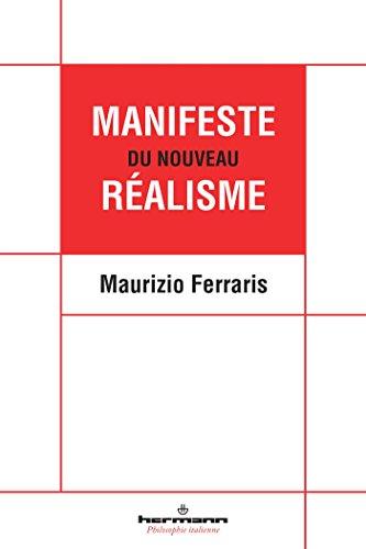 Manifeste du nouveau réalisme par Maurizio Ferraris