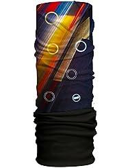Han® Original forro polar bufanda, Unisex, color Crossroads Reflective/Black, tamaño talla única