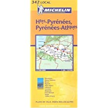 Carte routière : Hautes-Pyrénées - Pyrénées-Atlantiques, N° 11342