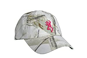 Browning Mesdames Rimfire Realtree Camouflage neige blanc fuchsia bucmark Hat