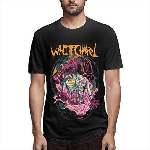 Whitechapel-Brutal Gesicht Schmelzen Metall Retro Vintage Shirt Whitechapel T-shirts