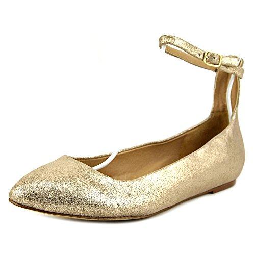 Splendid Lydia Femmes Daim Chaussure Plate Champagne