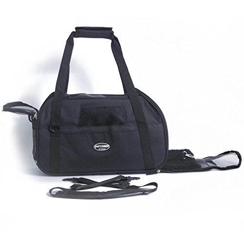 Hundetasche Katzentasche Transporttasche Bequem Oxford-Gewebe Schmuztabweisend Tragetasche für Hunde Katzen von Treat Me