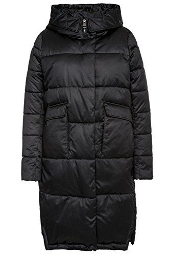 Monton Frauen Mantel Schwarz XL