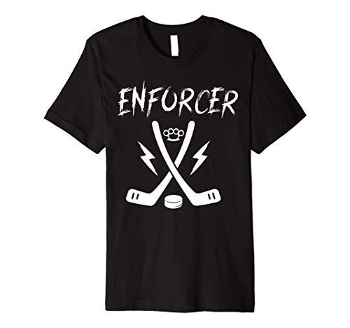 Tough Guy T-shirt (ENFORCER Tough Guy Ice Hockey Funny T-Shirt)