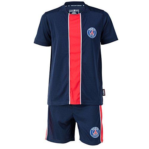 PARIS SAINT GERMAIN Maillot + Short PSG - Collection Officielle Taille Enfant 12 Ans