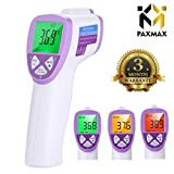 PAXMAX Non Contact Digital Infrared Forehead Thermometer for baby & adults for fever