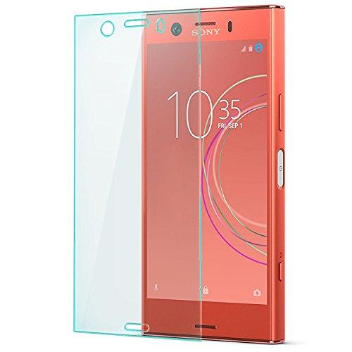 zanasta Displayschutz Folie kompatibel mit Sony Xperia XZ1 Compact Glasfolie aus Gehärtetem Glas Panzerfolie Schutzglas | Klar Transparent
