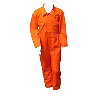Food Safety Direct Children's Orange Coveralls/Boilersuit (Range of Sizes) (30
