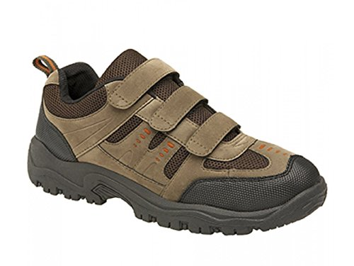Dek, Scarpe da Trail Running uomo (Khaki/Brown)