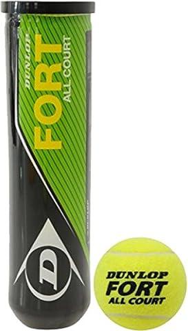 Dunlop Fort de Tennis de Sport ITF Approuvé intérieur/extérieur tous les cour Lot de 12balles