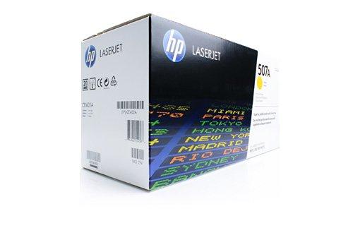 Original HP CE402A / 507A, für Laserjet Pro 500 Color MFP M 570 DN Premium Drucker-Kartusche, Gelb, 6000 Seiten - M551n-drucker Hp Color Laserjet