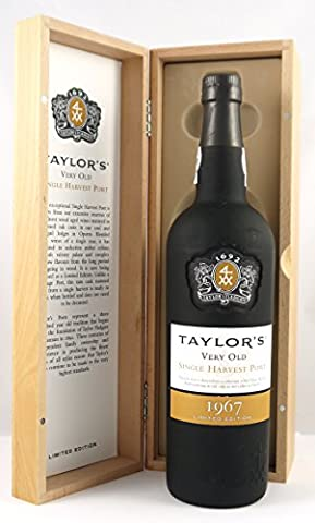 Taylor's Very Old Single Harvest Port 1967 with gift box by Taylor's