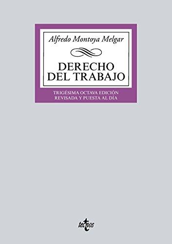 Descargar DERECHO DEL TRABAJO (38ª ED )