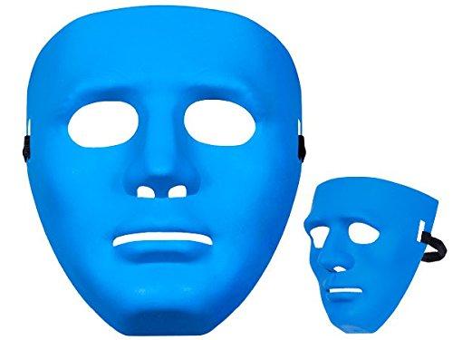 Totenkopfmaske Vendetta Maske Karneval Saw Fasching Maske Blue Mask Kostüme Geist, wählen:Mas-06 Maske (Der Halloween Öffentlichkeit In Kostüme)